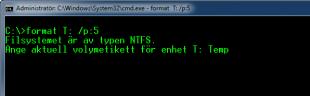 Kommandopromten Format Volymetikett