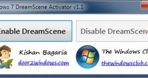 Aktivera Dreamscene Activator