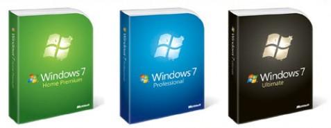 Versioner av Windows 7