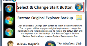 Byta startknapp med Start Button Changer