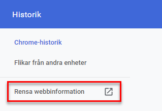 radera-webbhistorik-google chrome-2