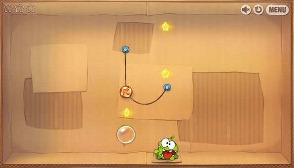 Cut the Rope mata Nom