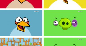 Bakgrundsbilder till temat Angry Birds