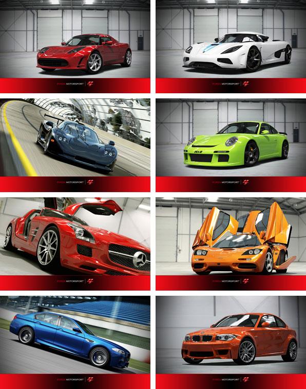 Bakgrundsbilder till temat Forza Motorsport 4