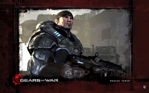 Officiella temat Gears of War 1