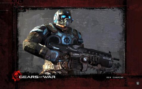 Officiella temat Gears of War 3