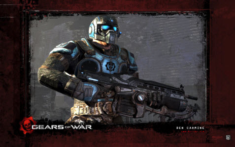 Officiella temat Gears of War 3