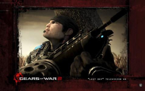 Tema Gears of War 2 bild 2