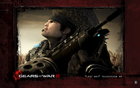 Tema Gears of War 2 bild 2
