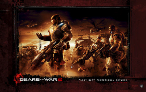 Tema Gears of War 2 bild 3