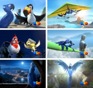 Bakgrundsbilder från temat Rio Movie
