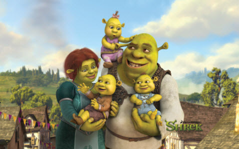 Tema med Shrek bild 1