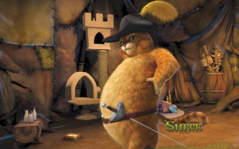 Tema med Shrek bild 2