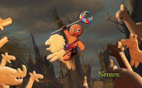 Tema med Shrek bild 3