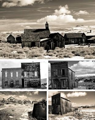 Bakgrundsbilder från temat Spökstad