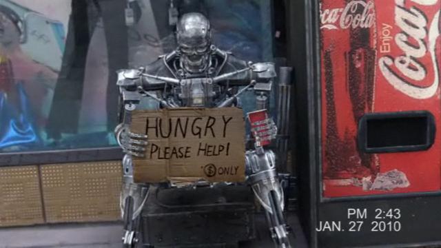 Terminator's secret mission