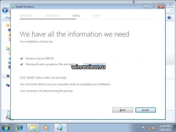 Läckt bild på Windows 8 uppgradering