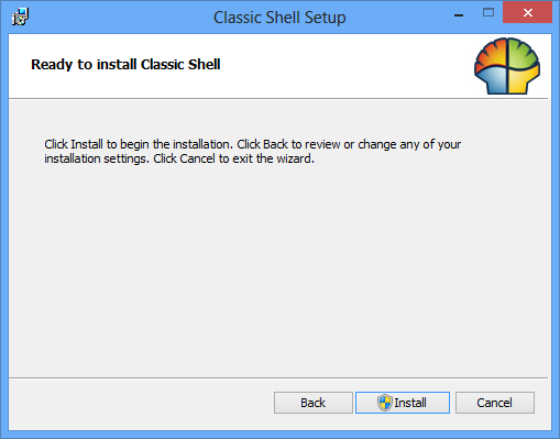 Installation av Classic Shell i Windows 8