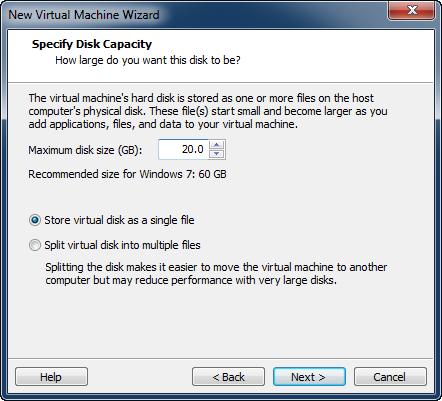 Windows 8 installation i VMware Workstation