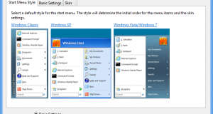 Konfigurera Clasiic Shell i Windows 8