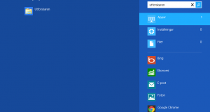 Starta utforskaren i Windows 8