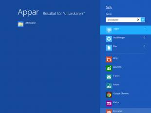Starta utforskaren i Windows 8